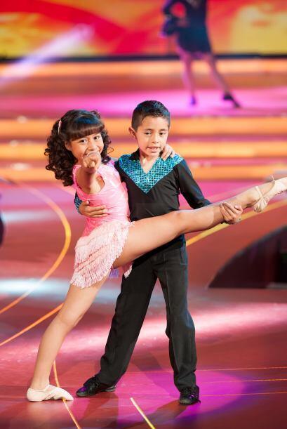 Alexa González y Aoky Castelan son la pareja de baile que representará a...