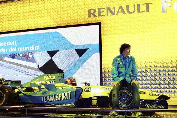 Desde la presentación de la escudería Renault antes de la temporada, Alo...