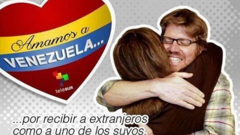 La cadena venezolana TeleSUR utilizó la imagen de un periodista que habí...