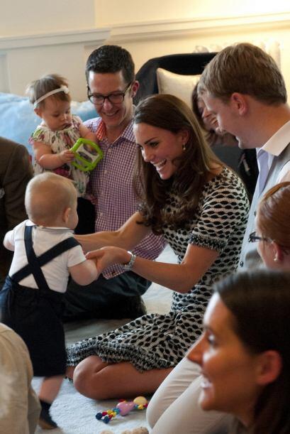 ¡Ah, pero qué belleza! ¿Estará conociendo Kate a su futura nuera?