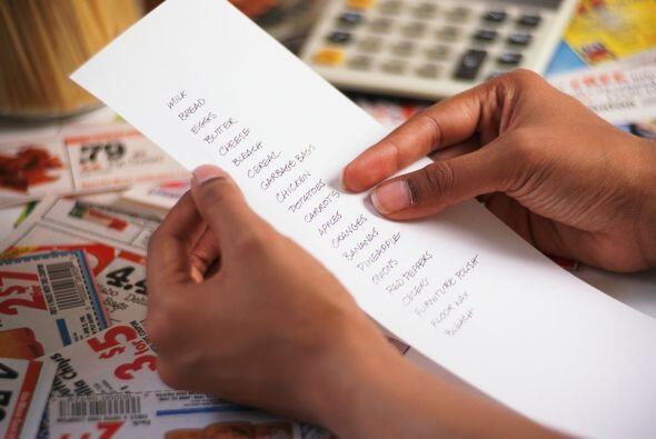 Arma un presupuesto. Haz una lista con lo que necesitas, de acuerdo al d...