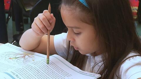 A pesar de avanzar rápidamente en lectura, Arlette aún debe superar un n...