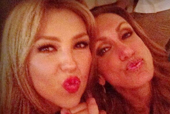 Lili Estefan es una de las mejores amigas de Thalía.