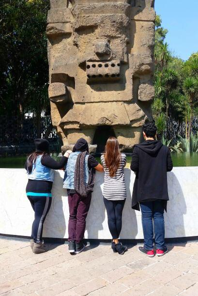 Para cerrar este gran día entraremos al museo de Antropología. Mucho que...