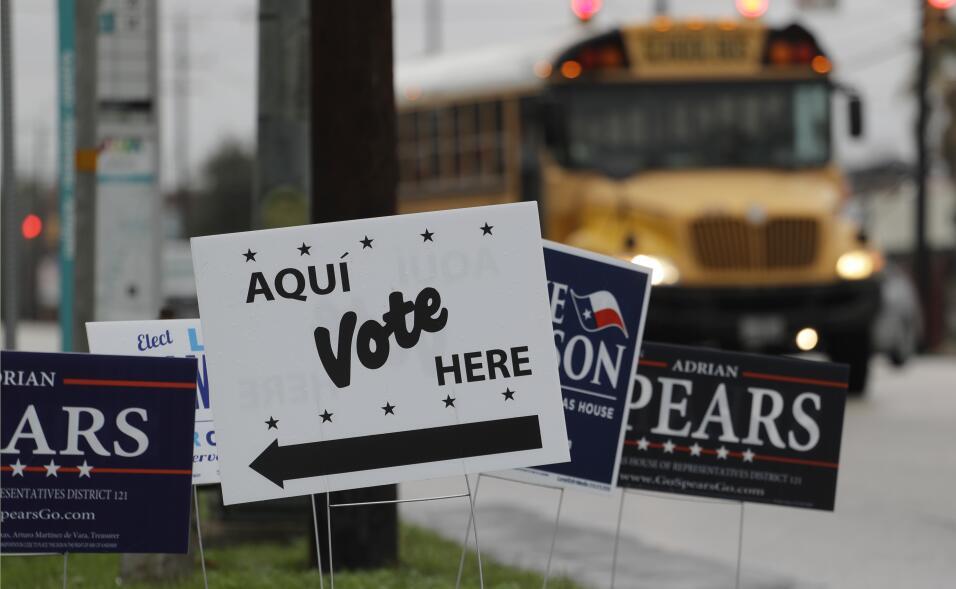 Las primarias del 2018 arrancan en Texas con el entusiasmo demócrata en...