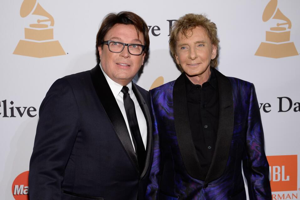 Garry Kief y Barry Manilow