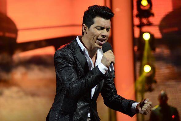 """Cerrando el grupo, Mario Pacheco cantó """"Lo intentamos"""", pero no cautivó..."""