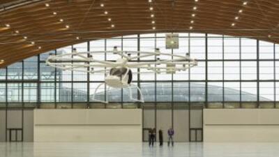 El Volocopter VC200 ha comenzado sus vuelos