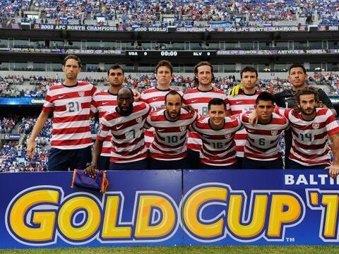 Estados Unidos enfrentó a El Salvador en los cuartos de final de...