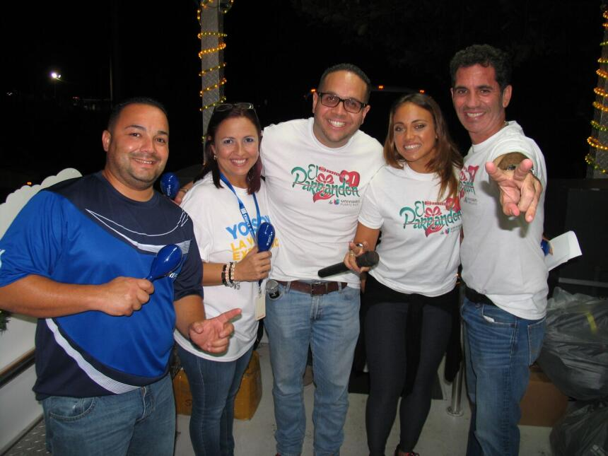 El parrandón más largo de Puerto Rico comenzó en el pueblo de Dorado don...