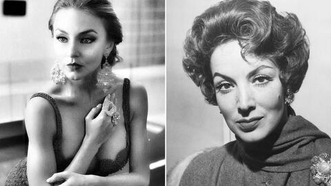 Angelique Boyer y María Félix