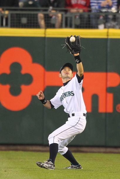 El japonés Ichiro Suzuki ya es un infaltable en los jardines del...