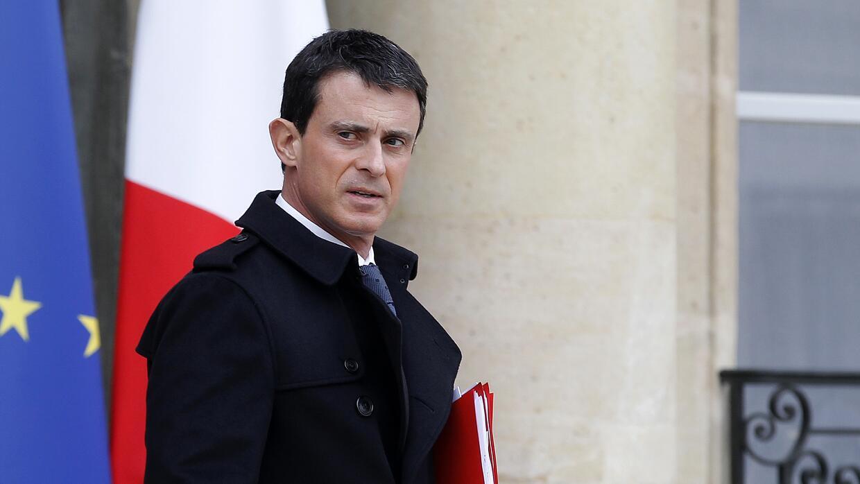 Primer ministro francés Manuel Valls.