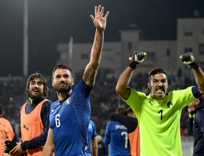 9. Italia (UEFA) - 6,933,373 seguidores