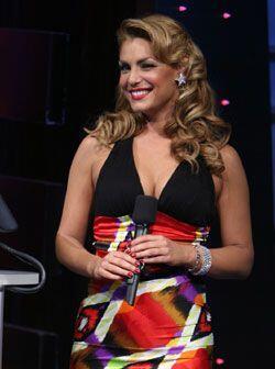 Esta argentina sabe como conquistar a los televidentes de Sábado Gigante.