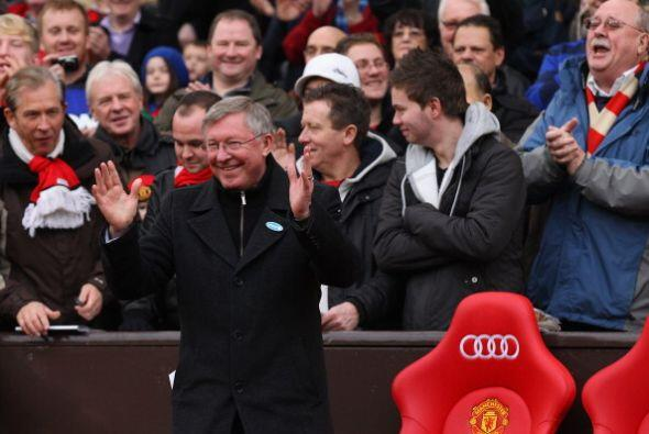 Todo comenzó con alegría ya que Alex Ferguson festej&oacut...