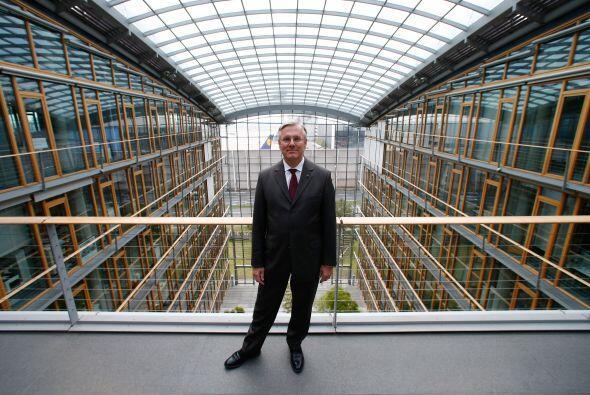 Christoph Franz, el director ejecutivo saliente de Deutsche Lufthansa AG...