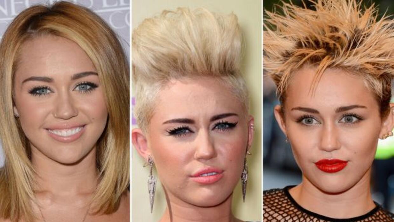 Peinados Miley Cyrus