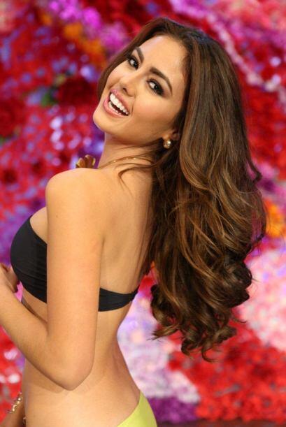 Bárbara quiere ser la primera colombiana en llevarse la corona de Nuestr...