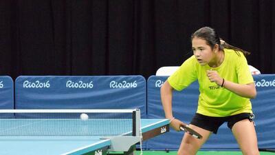 Impresionada la tenismesista Adriana Díaz con el escenario olímpico