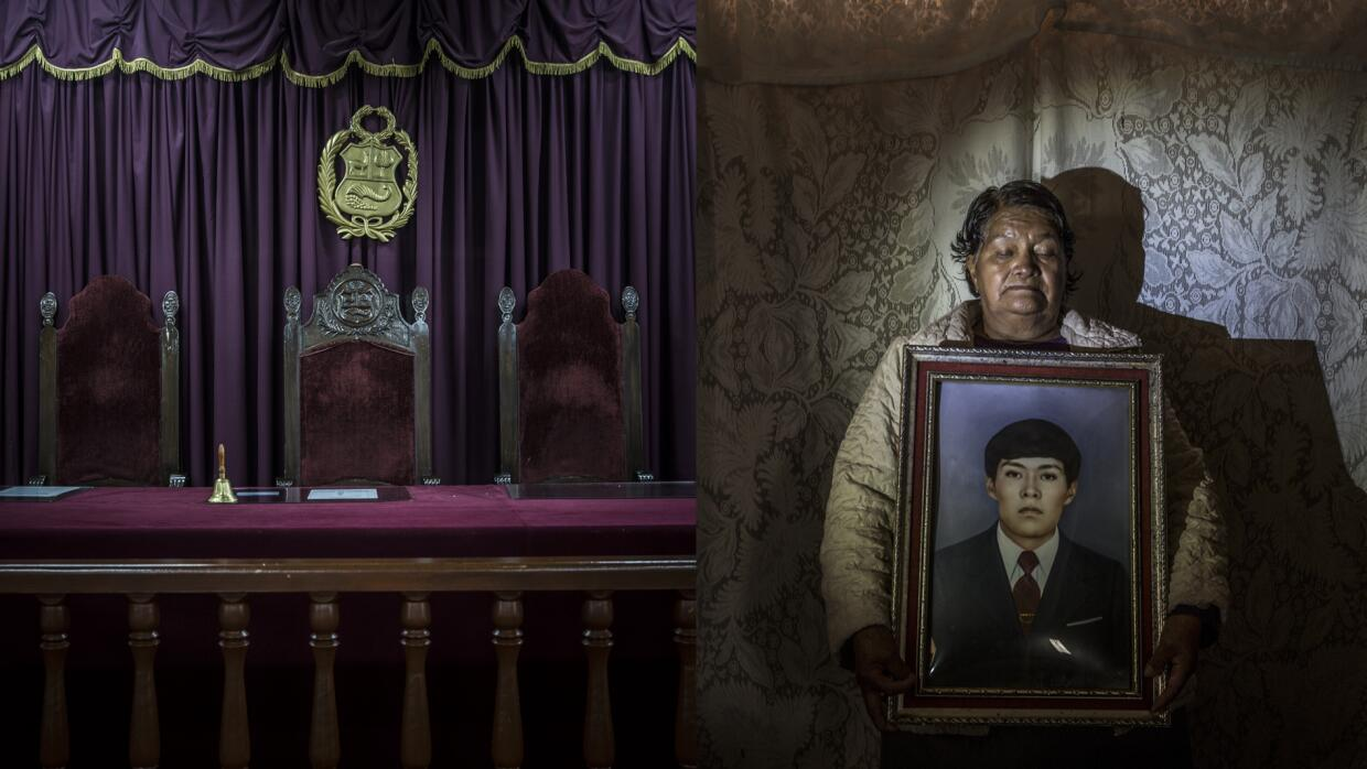 Celsa Taco finally received the remains of her son 33 years after he dis...