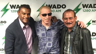 """Coco Cabrera, José Alberto """"El Canario"""" y Charlie Aponte"""