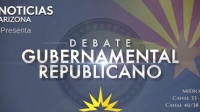 El debate se realizará en vivo desde los estudios de Univisión Arizona.