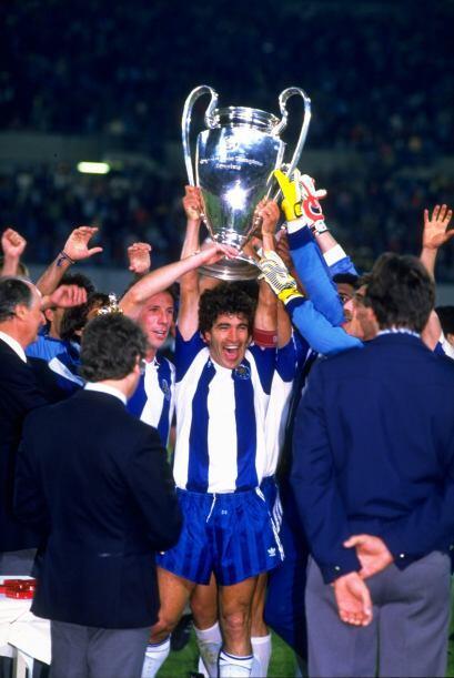 En 1987 el Oporto levantó la mano por el bando lusitano, consiguiendo el...