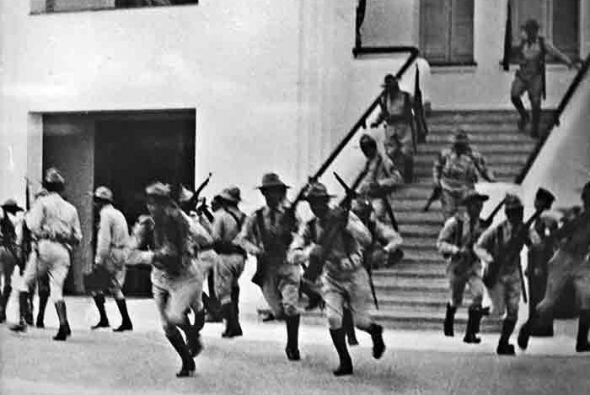Julio 26 de 1953:  los miembros del ejército de Batista estaban l...