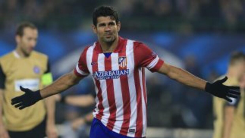 Costa, mientras definie su situación a nivel de selecciones, le hizo dos...