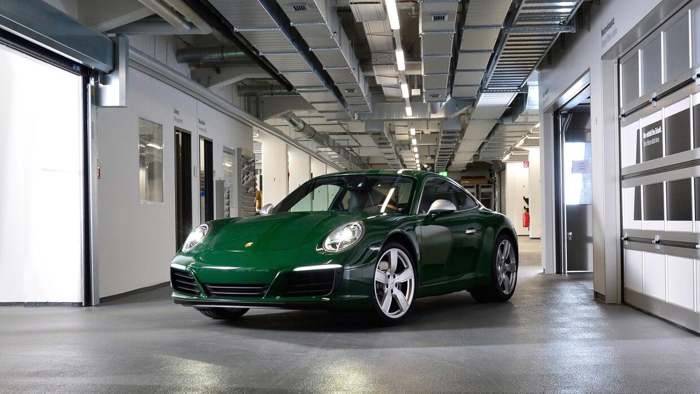 El Porsche 911 número un millón fue construido el jueves 11 de mayo de 2...