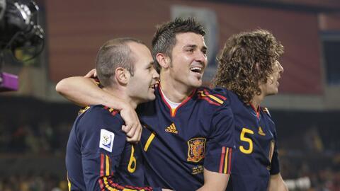 ¿Volverán a celebrar triunfos juntos Villa e Iniesta en New York City FC?