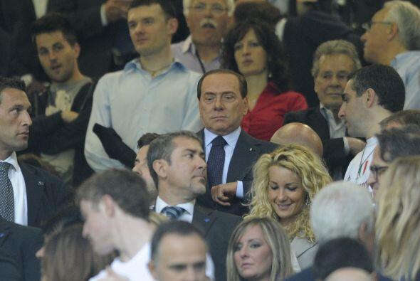 Al igual que su padre, Silvio Berlusconi.