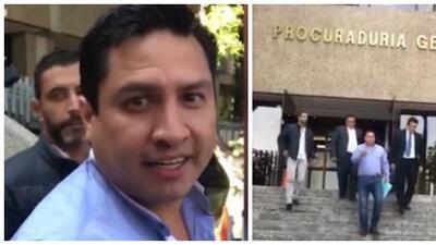 julioo acude a la PGR mexicana por voluntad propia y ponerse a la orden...