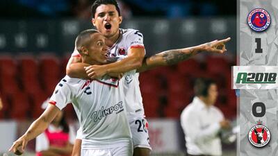 Veracruz 1-0 Tijuana - GOL Y RESUMEN - Jornada 7 Apertura 2018 Liga MX