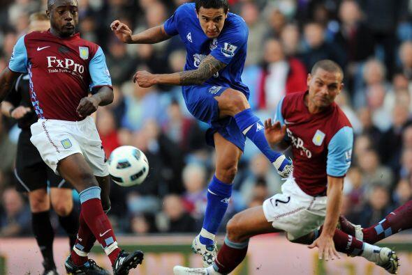 El plantel del Everton lucía con un mínimo favoritismo para lograr los t...