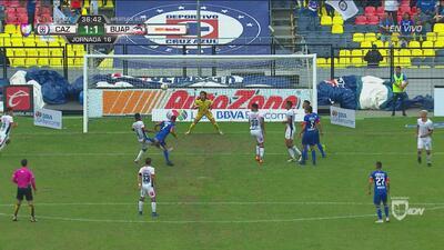 Perdonó Cauteruccio el 2-1 para Cruz Azul