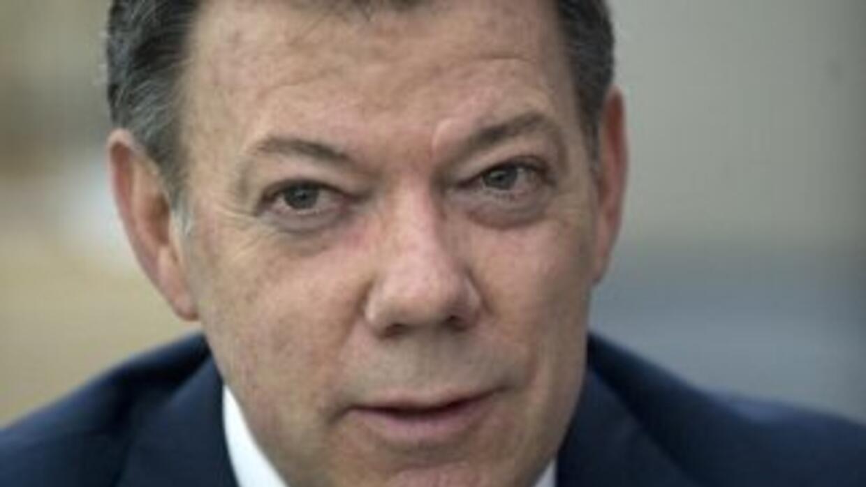 Juan Manuel Santos, presidente de Colombia, y como él mismo se definió:...