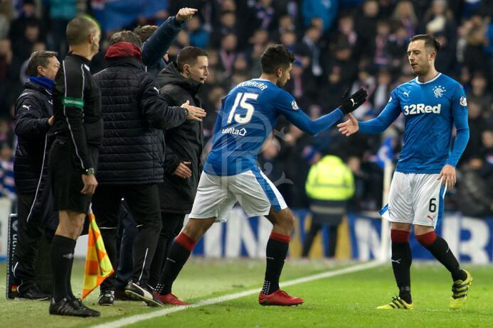 Rangers [1]-3 St. Johnstone: Eduardo 'Lalo' Herrera entró al min...
