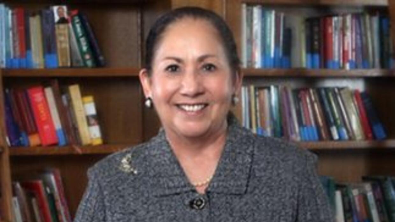 Juliet V. González, presidenta de la Universidad de Texas en Brownsville...