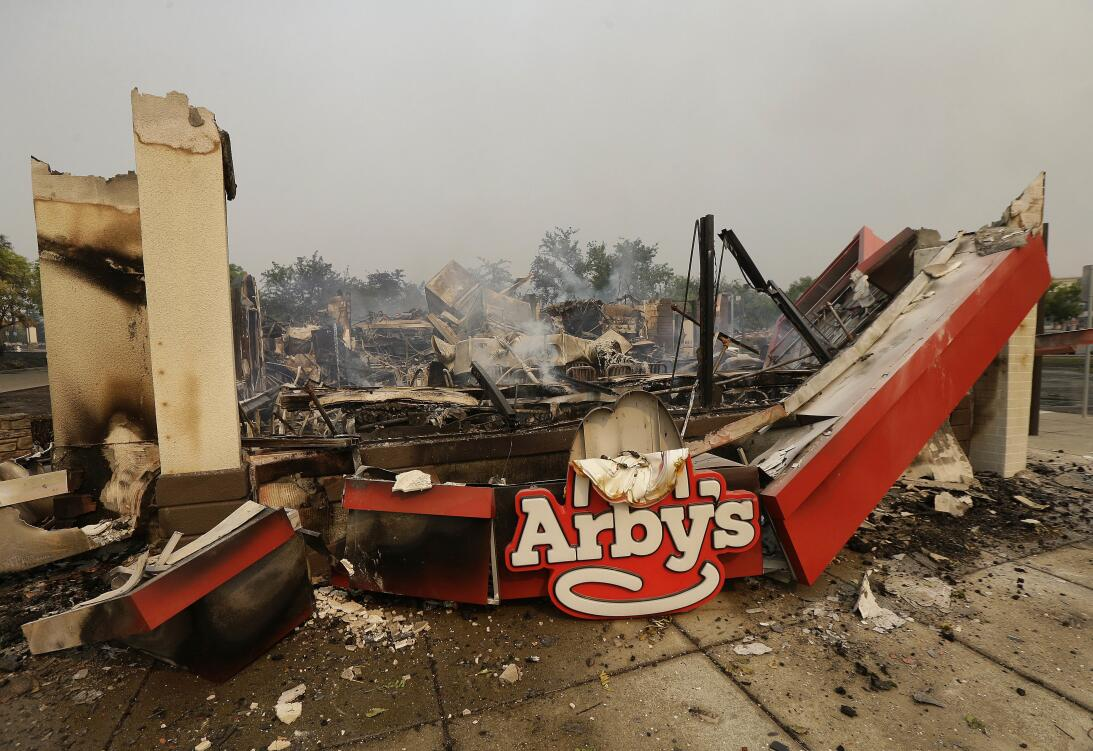 Incendios en el norte de California