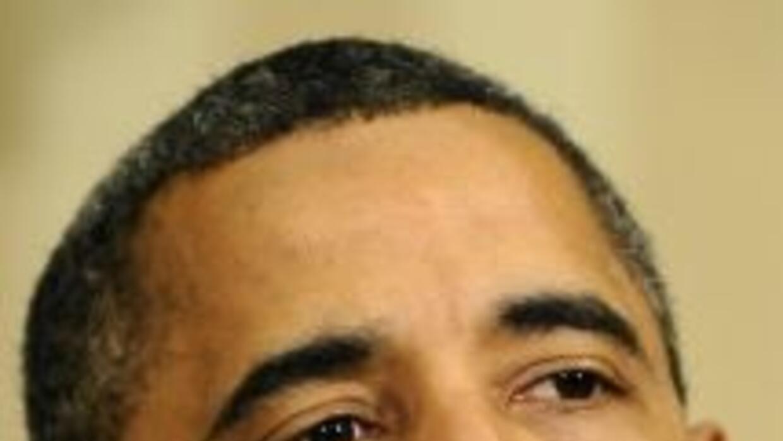 El presidente Barack Obama se comprometió a actuar para impulsar la econ...