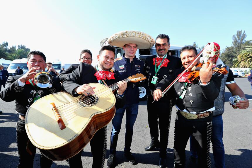 Mariachis, tacos y visitas especiales para los pilotos en GP de México d...