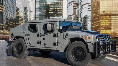 Este es el nuevo Humvee pero ya no defenderá a EEUU