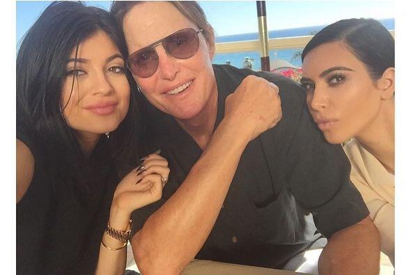 Esta linda imagen la compartió Kim en su cuenta de Instagram.
