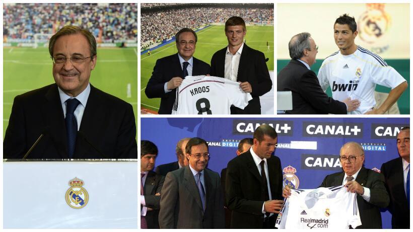 Florentino Pérez inicia quinto mandato con asunto Cristiano pendiente 1.jpg