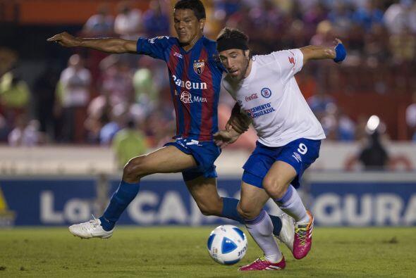 Mariano Pavone: Es cierto que el centro delantero no metió ning&u...