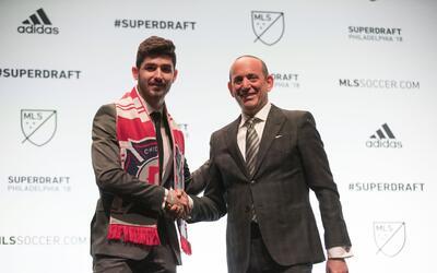 El español Jon Bakero, nuevo jugador de Chicago Fire.