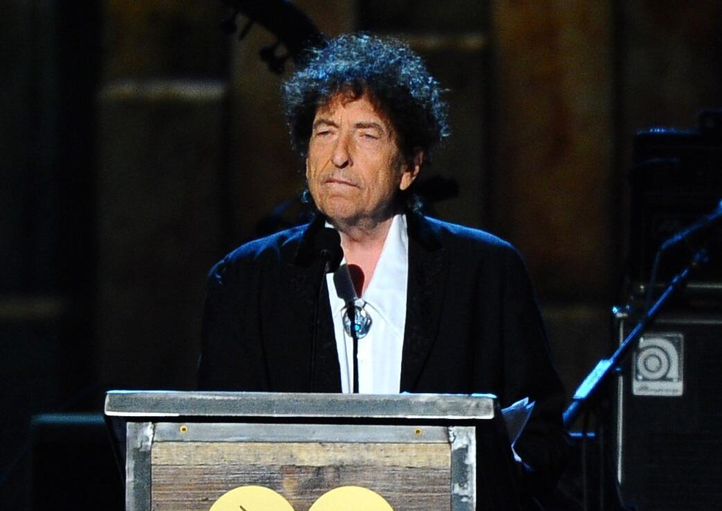 ARCHIVO - Foto de archivo, 6 de febrero de 2015, del cantautor Bob Dylan...