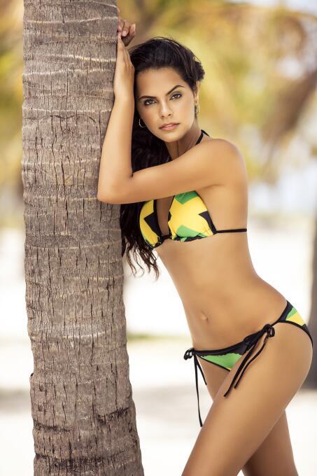 Copa Oro sexy: duelo de seductoras entre la 'reggae girl' y la chica pic...
